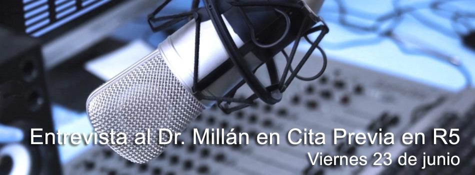 Entrevista Doctor Julio Millán en RNE
