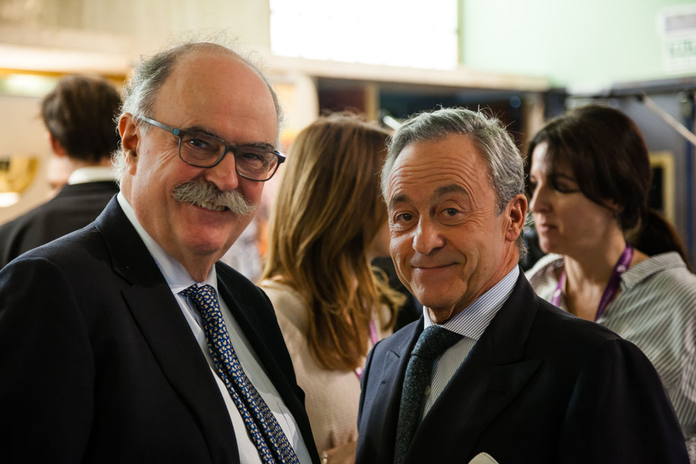 Dr. José Sáinz Arregui con Dr. Millán