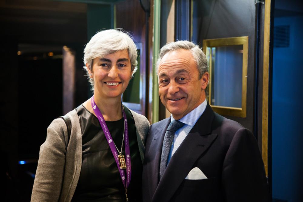 Dra. María del Mar Vaquero con Dr. Millán