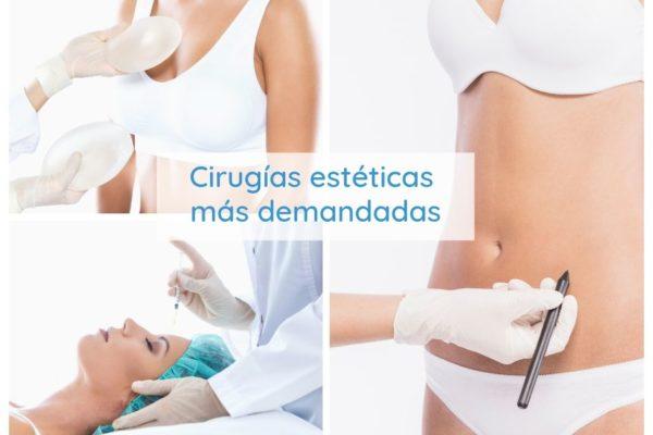 Intervenciones de cirugía estética más demandadas según la edad