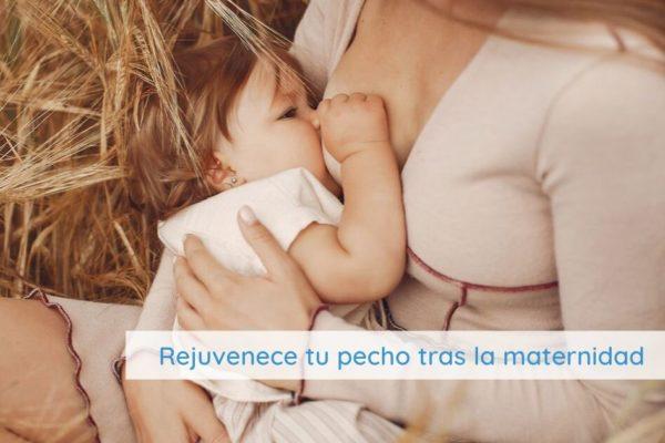 Rejuvenece el pechos tras la maternidad