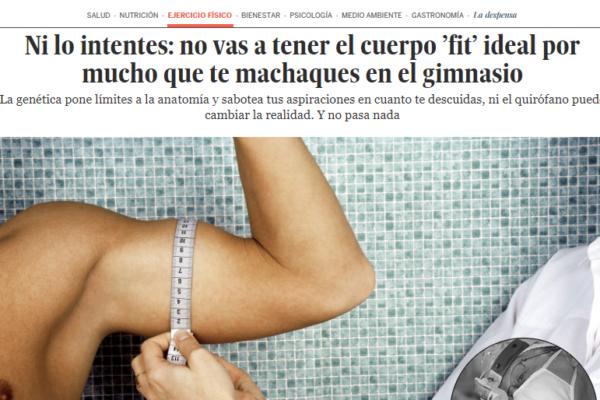 Opinión del Dr. Millán en artículo de El País